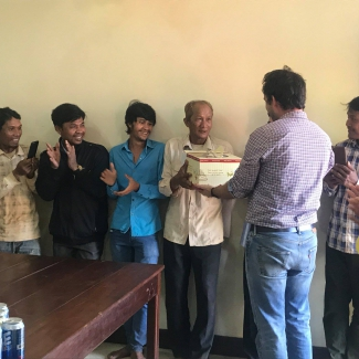2019 02 03 Socfin Cambodia celebrated its oldest employee