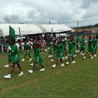 2019 03 26 Inter-house sport school competition in Nigeria