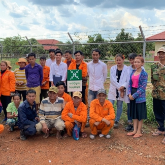 2019 05 07 Safety Minute Training at Socfin Cambodia
