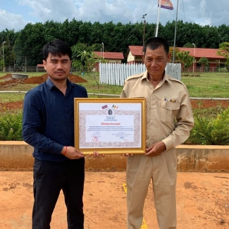 2019 05 22 Local communities presented their thanks to Socfin Cambodia