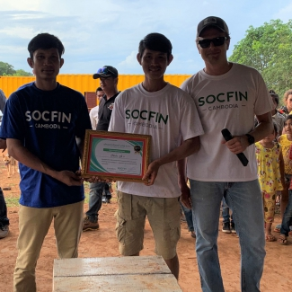 2019 06 04 Socfin Cambodia best village award for 2019