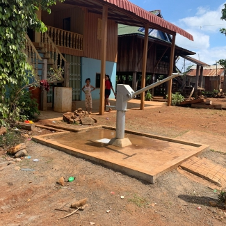 2019 11 29 Socfin Cambodia donated 3 boreholes to Buning indigenous communities