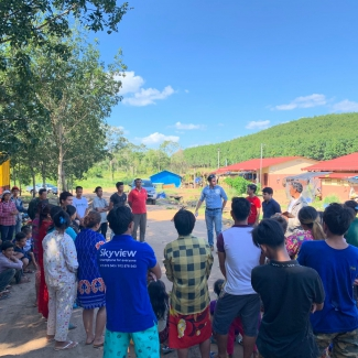 2019 10 29 New village coordinators at Socfin Cambodia