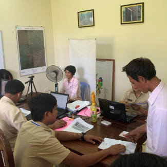 2019 12 03 Registration to National Social Security Fund (NSSF) in Socfin Cambodia