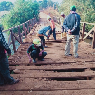 2021 01 29 Socfin Cambodia bridges repair